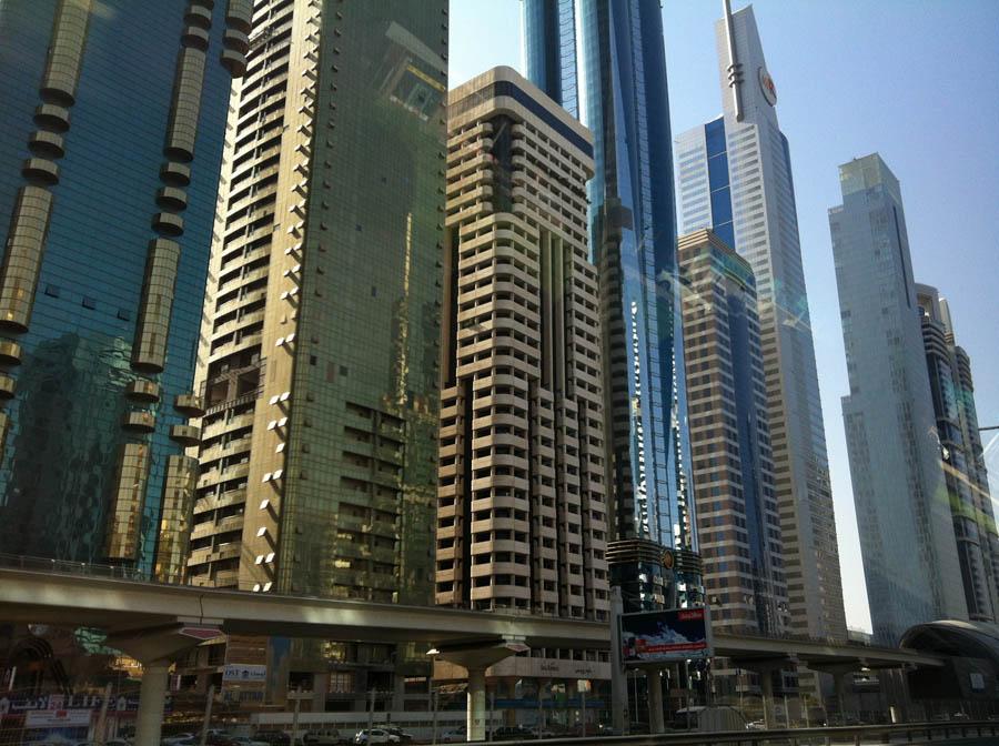En route vers Burj Khalifa.