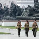 Pyongyang, jour 3 : hommage aux Grands leaders dans le Palais du Soleil Kumsusan et visite du musée de la Guerre de Corée
