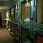Jour 12 : Une journée en train et une nuit en capsule hotel