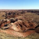 Jour 6 : Petrified Forest et Albuquerque