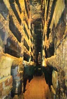 Les photos sont interdites à l'intérieur. Celles-ci sont donc © Pontificia Commissione di Archeologia Sacra.