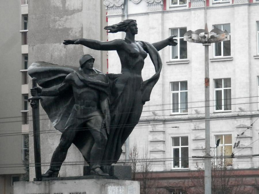 L'Hôtel Chisinau est situé juste derrière le monument de la Libération.