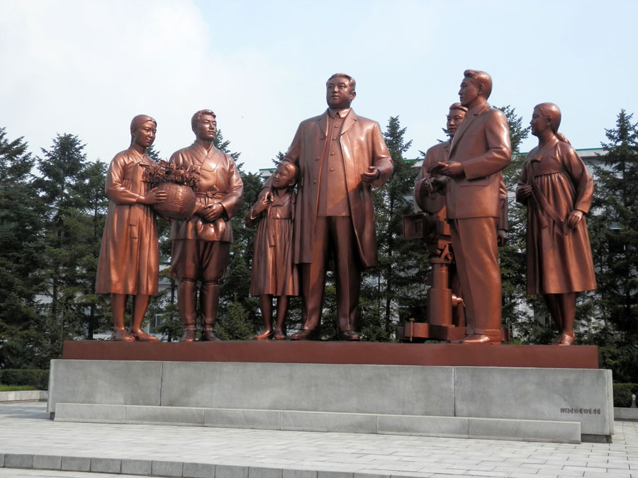 Kim Il Sung est venu ici 28 fois.