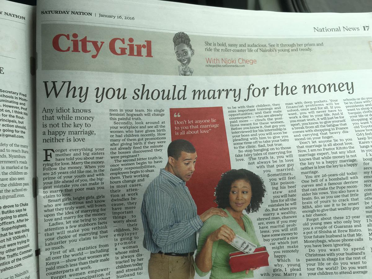 Du coup, j'ai le temps de lire la presse locale.