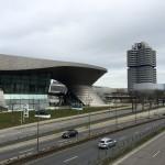 Le parc olympique de Munich et le musée BMW