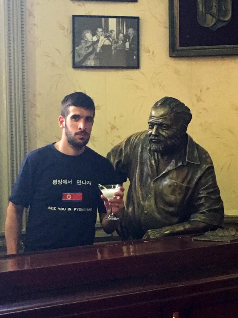 Un daiquiri avec Hemingway, le dernier avant le départ.