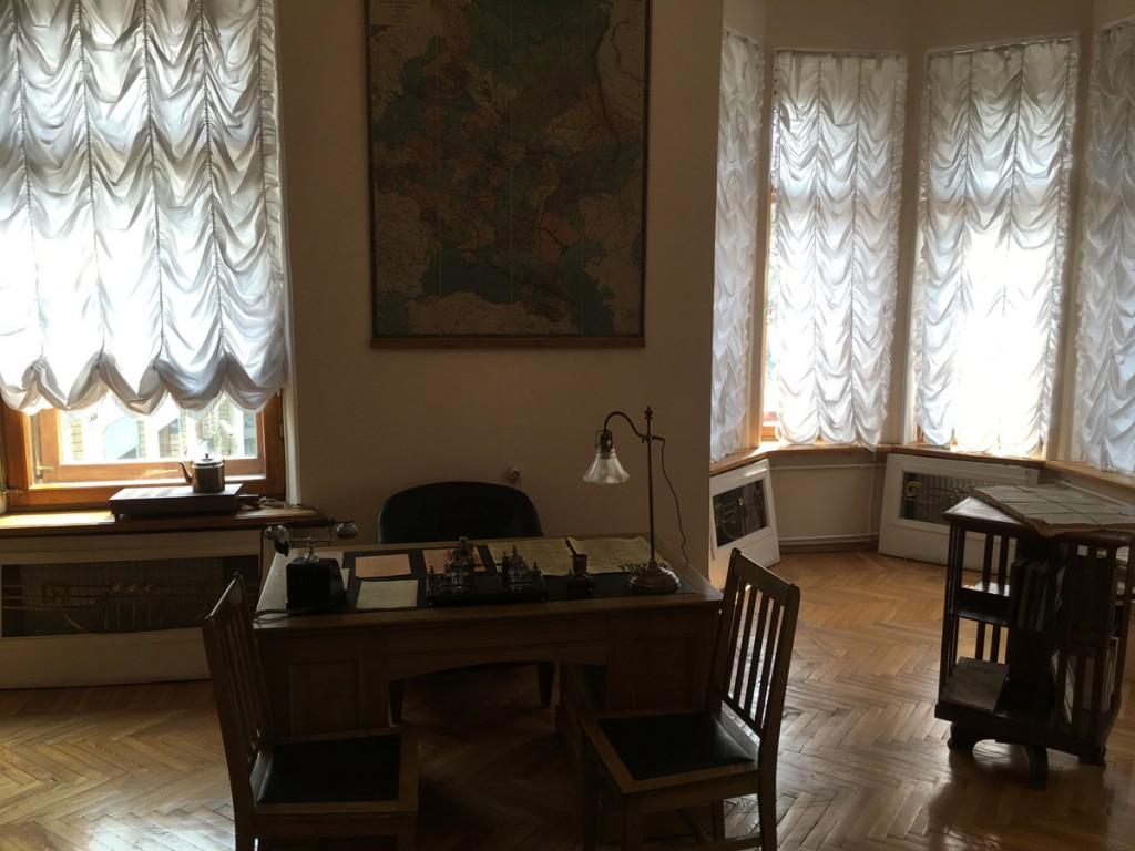 Le bureau de Lénine