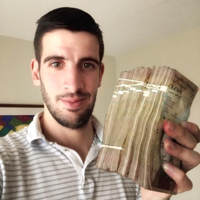 Venezuela currency argent inflation