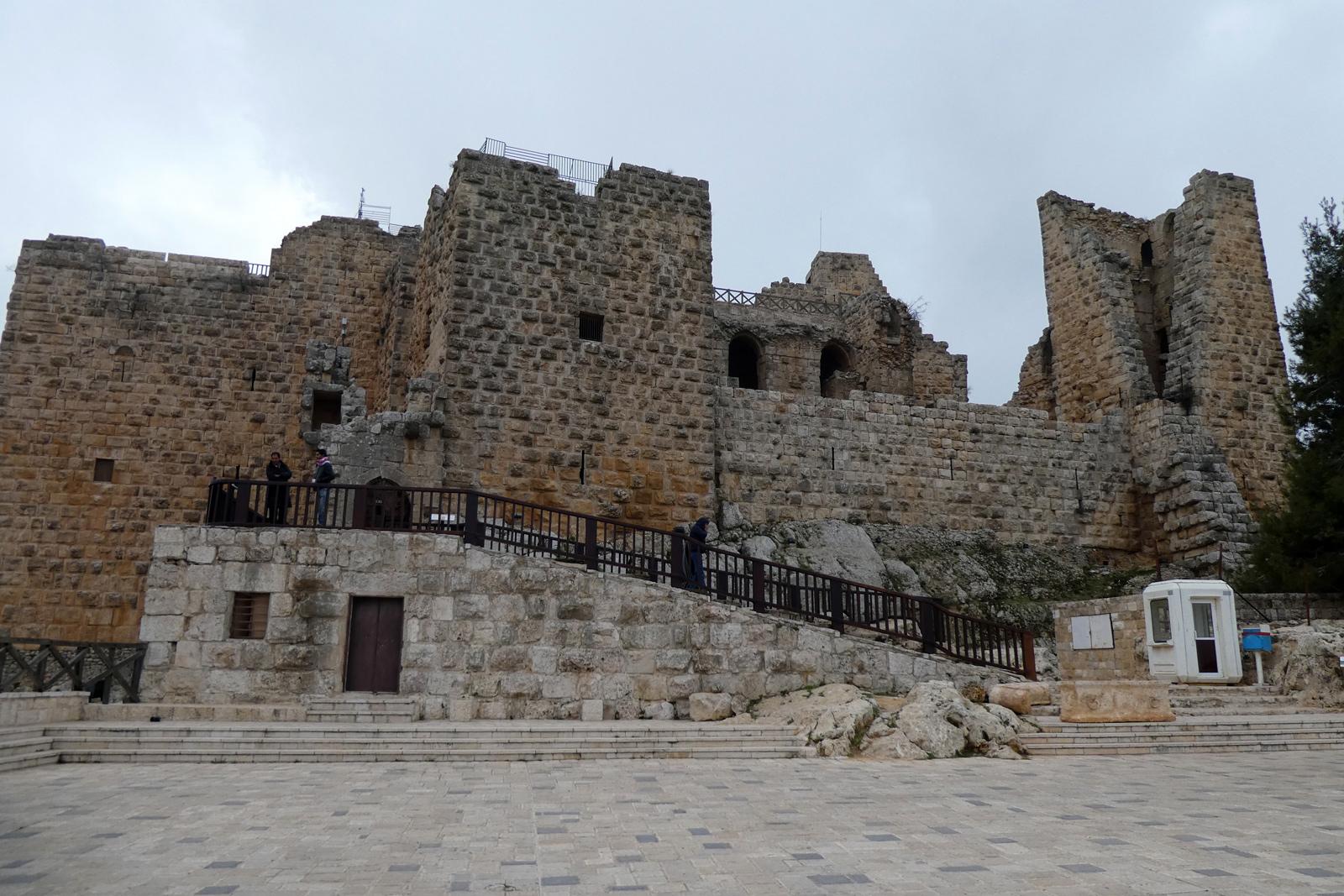 Château Aljun Jordanie