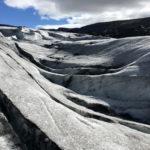 Islande : une randonnée sur le glacier Solheimajokull